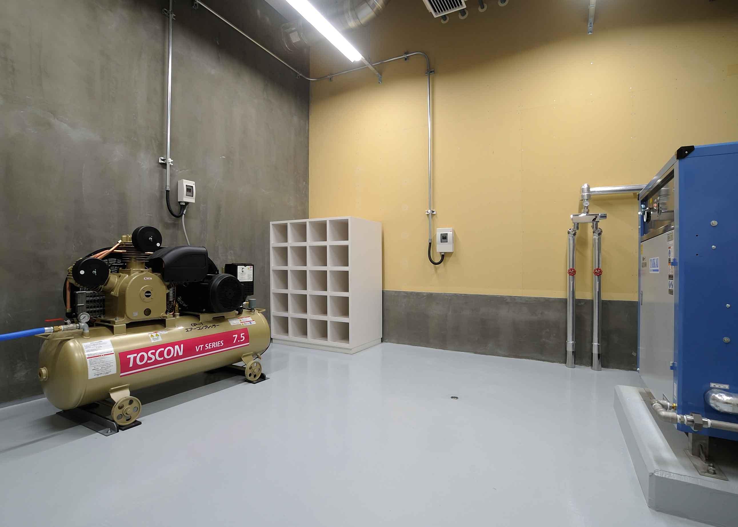 苫小牧消防庁舎新築主体工事