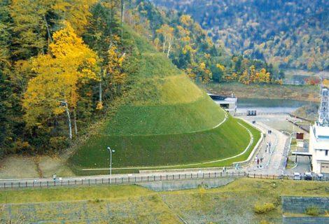 豊平峡ダム管理用道路安全対策