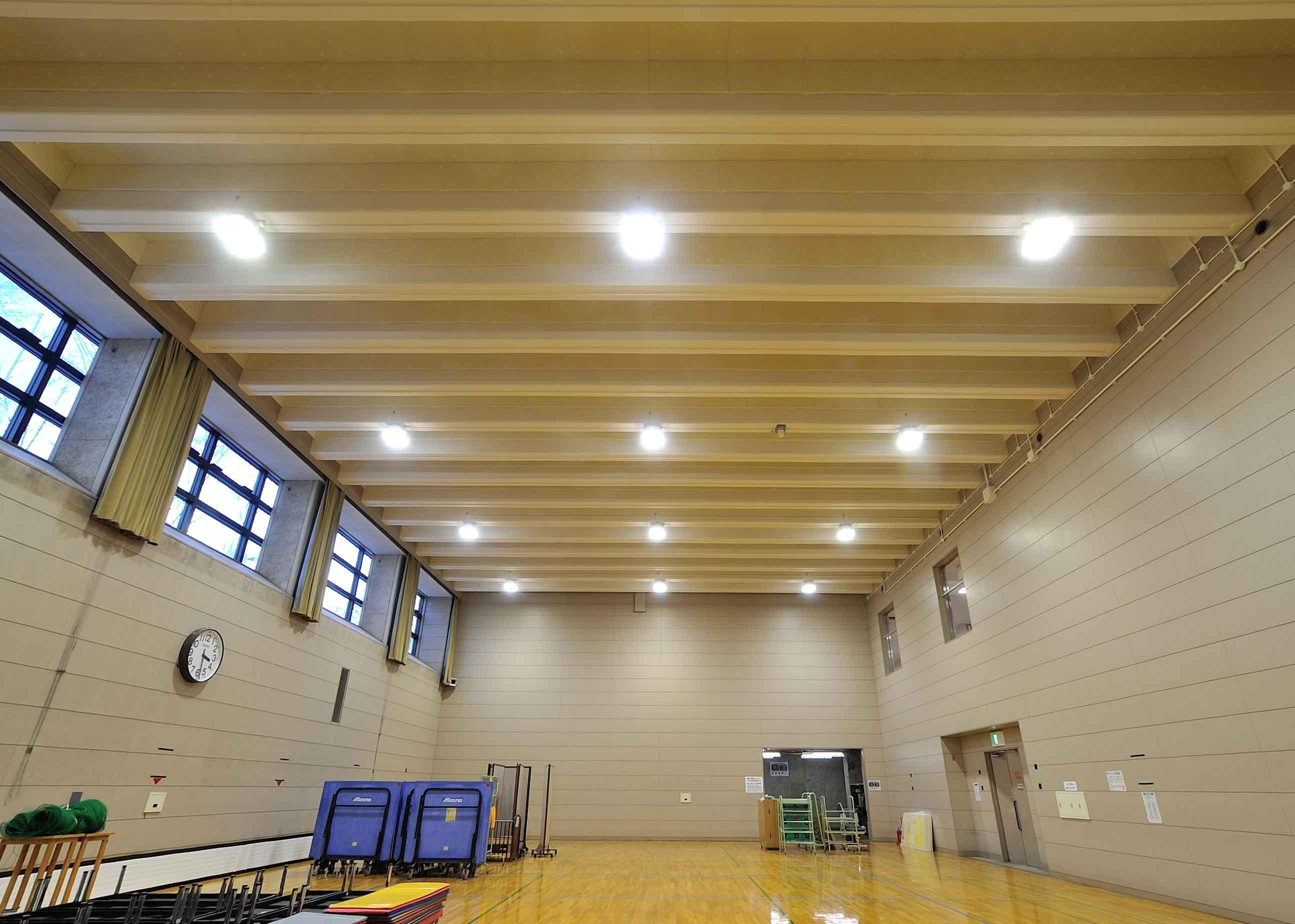 白石区体育館改修工事