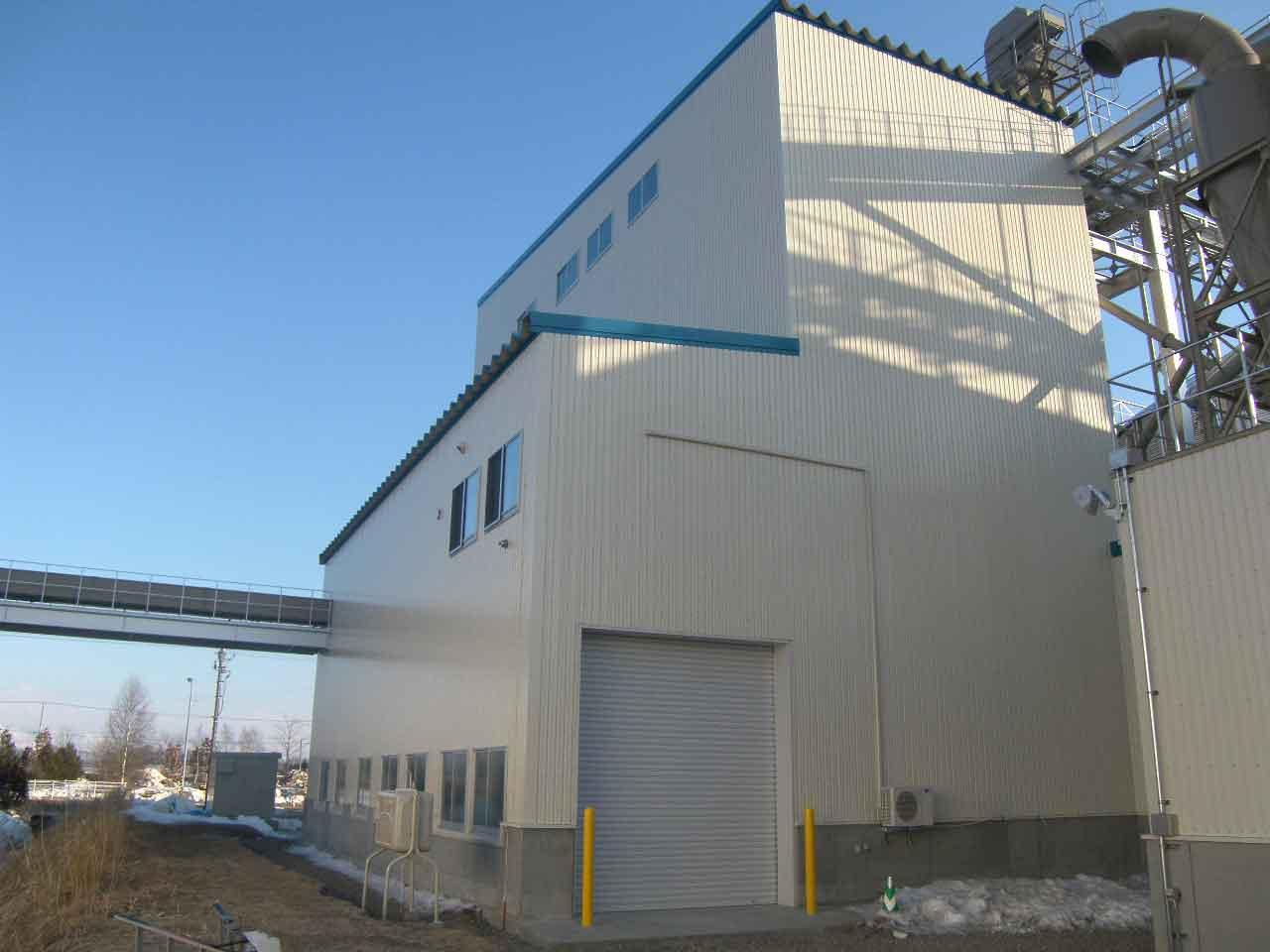 事業協同組合チホク会 農産物集出荷貯蔵施設(小麦調整貯蔵施設)新設工事