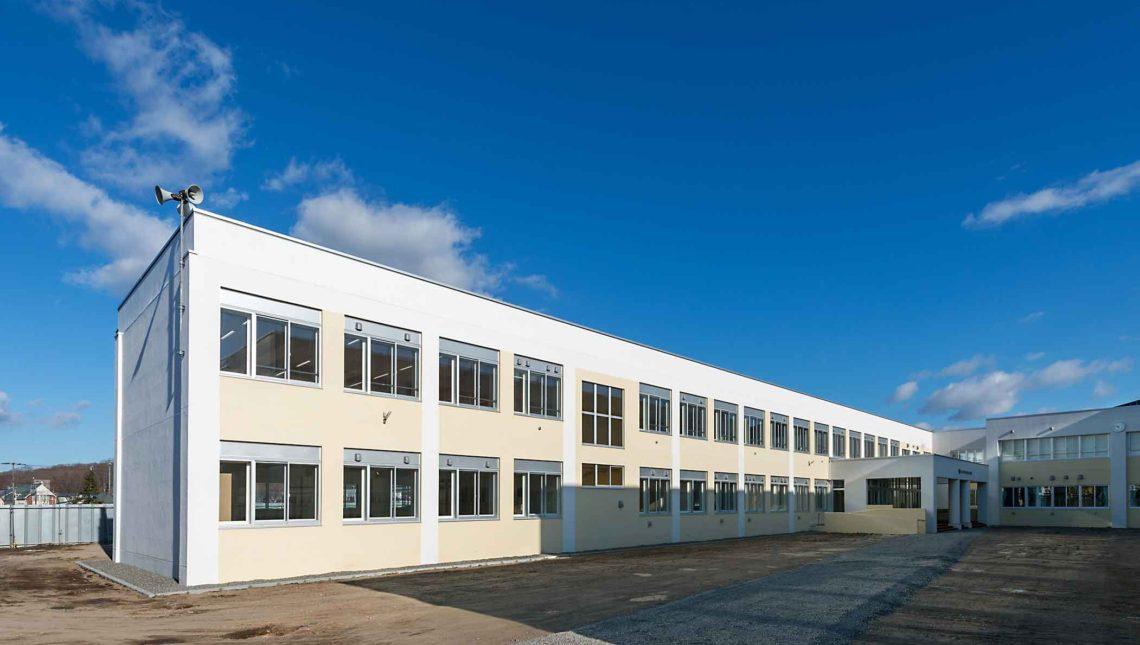 北光小学校校舎大規模改造主体工事
