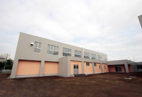 苫小牧東小学校屋内運動場改築主体工事