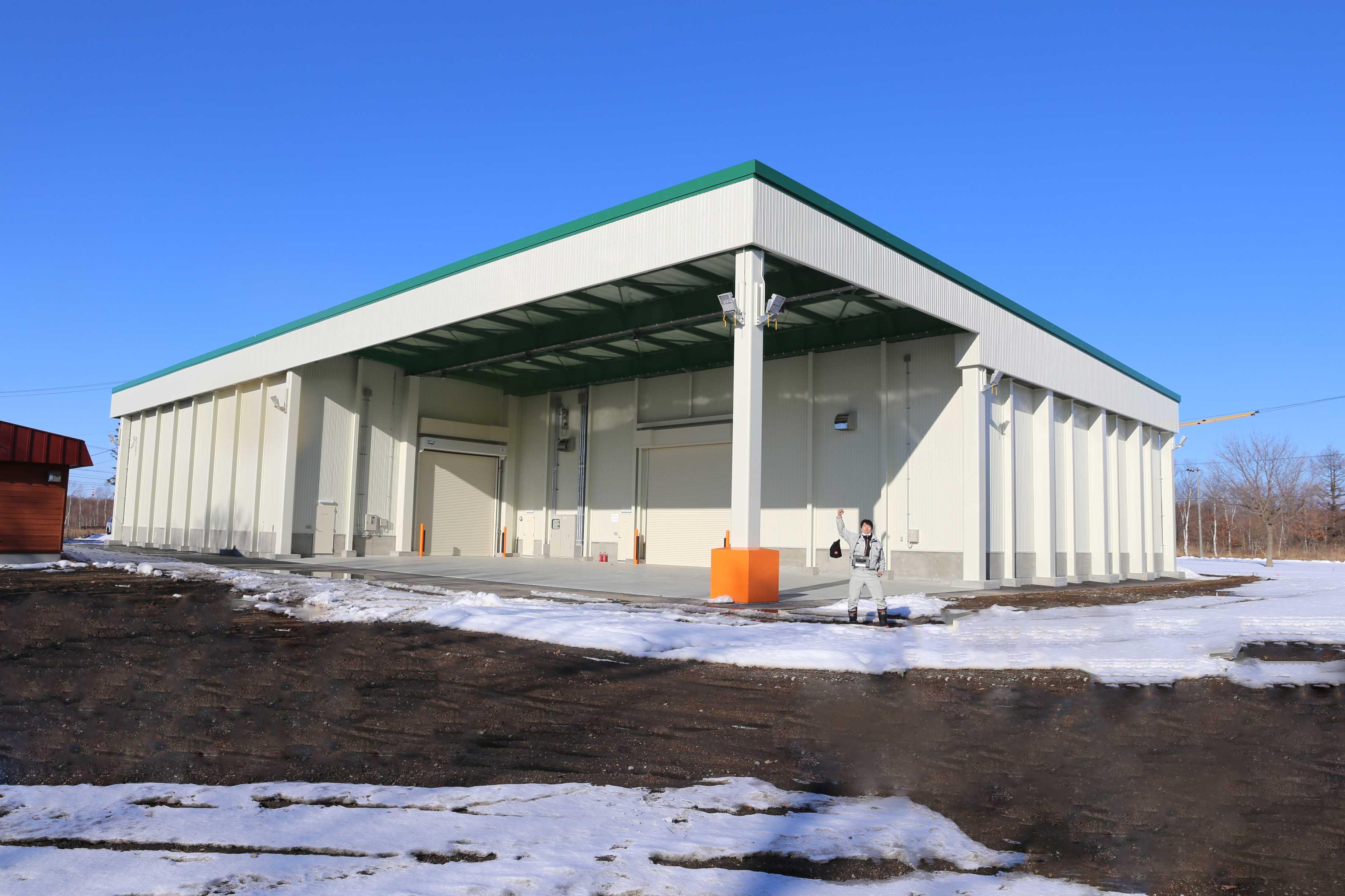 とまこまい広域農業協同組合安平地区大豆集出荷貯蔵施設新築工事