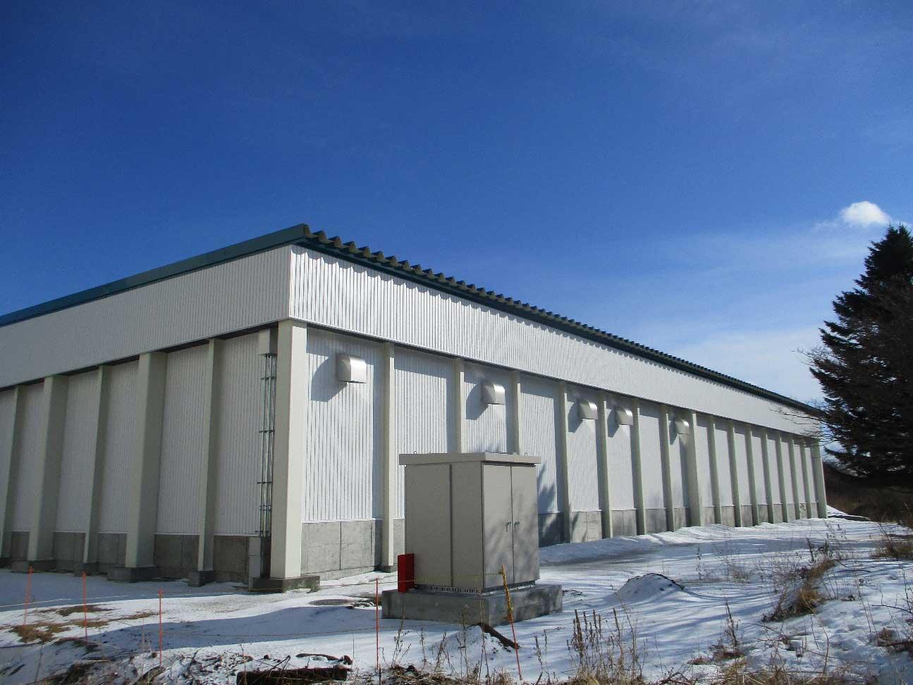 とまこまい広域農業協同組合 厚真地区農産物集出荷貯蔵施設 新築工事